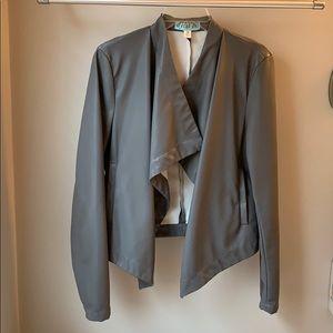 Francesca's Collections NWOT Faux Leather Jacket